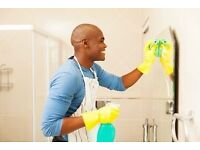 Male domestic cleaner