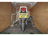 MAN AND VAN HOUSE REMOVALS RUBBISH CLEARANCE WESTE CLEARANCE LARGE LUTON VAN With TAIL LIFT