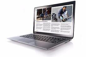 TOSHIBA Kira 107 Ultrabook Touchscreen 13 Laptop i7 8GB 256GB SSHD *WIN 10**