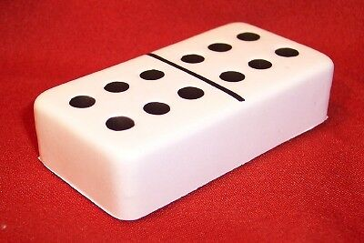 ***DOMINOES***STRESS BALL*** reliever game dots tile squishy squeezy FUN