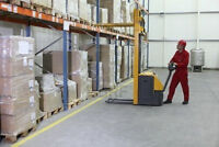 FORKLIFTERS NEEDED IN MARKHAM AREA