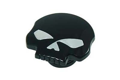 Black Skull Gas Cap Vented Fuel Cap For Harley Sportster Dyna Gas Tank Cap 96 17