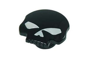 Black Skull Gas Cap Vented Fuel Cap for Harley sportster dyna Gas Tank Cap 96-17