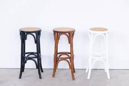 Desinger Bar stools - White, Black and Walnut
