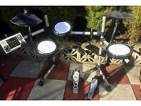 Legacy DD502 Electric Drum Kit - incomplete / some parts not working: