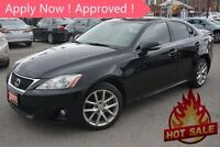 2011 Lexus IS 250 AWD LEATHER SUNROOF ALLOYS BRAND NEW TIRES