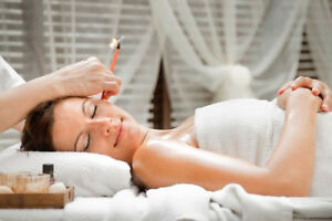 AFFORDABLE EAR CANDLING,MASSAGE,WHIRLPOOL,SAUNA & MORE! Kitchener / Waterloo Kitchener Area image 1