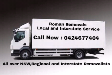 Interstate removals back loading