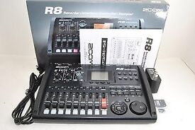 Zoom R8 8 Track Recorder Interface and Controller. (Like new)