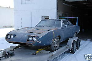 1970 plymouth superbird or dodge daytona any condition