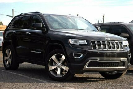 2015 Jeep Grand Cherokee Black Sports Automatic Wagon