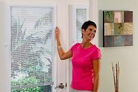 Enclosed Blinds for Doors