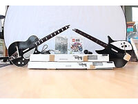 Nintendo Wii Beatles Rockband, 2x Guitars, Lego Rockband and Mic bundle