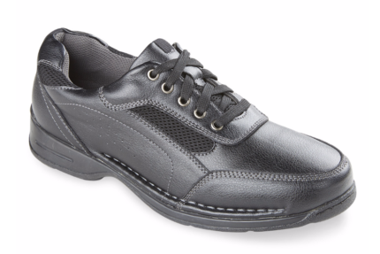 Deer Stags Verge Oxfords Size 14 US14 Mens Black Shoes Brand New!