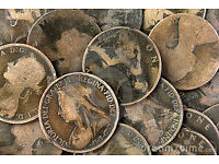 139 Victorian pennies, various years from 1874 h - 1901 will sell in any number