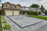 Driveway - Interlock - Concrete - Wall - Stone Work- Sodding
