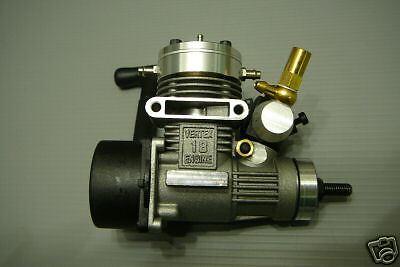 VERTEX 18 Marine Nitro RC Boat Engine with Pullstarter