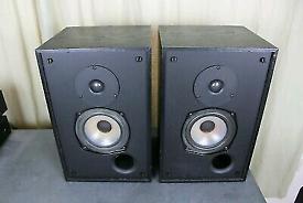Rogers LS/2a speakers - studio monitors LS3/5a Harbeth Seas