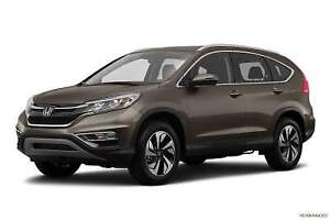 Assume Lease or PURCHASE outright - 2016 Honda CRV - Touring