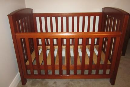 Boori Country Change table and Cot  Cots  Bedding  Gumtree