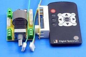 50 KA 2 channel Remote Motor Volume Potentiometer Control Adjustable + led