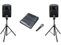 PA system to hire