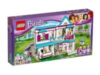 LEGO Friends Stephanies House Play Set & Mini-Doll Figures (41314) - BRAND NEW AND SEALED