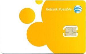 AT&T United States Nano SIM Card
