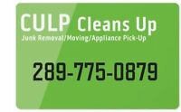 LOW PRICES!!  MOVERS JUNK REMOVAL SPRING CLEAN UP 289-775-0879