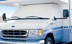 ADCO PART #2407 RV CLASS C WINDSHIELD COVER (White) Ford 350 & 450 1996-2016