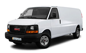 Rent Cargo Van GMC Savanna 2500EXT 2016 -  from 37.59$/day
