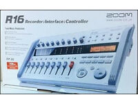 Zoom R16 16 Track Digital Recorder/Mixer/Controller For Sale