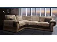 Scs Ashley sofa with FREE FOOTSTOOL ###