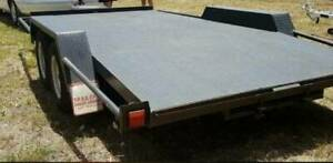 Car trailer 4.3m long with winch