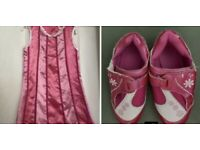 Dress age 4 and shoes size 13 (Lazy Town)