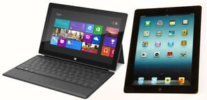 I buy tablet ipad pro, samsung galaxy tab s3, microsoft surface