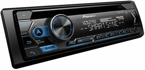 Pioneer DEH-S4200BT Single-DIN Bluetooth USB/CD/MP3 Car Stereo In-Dash Receiver