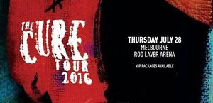 The Cure ticket in Melbourne 28/07/16 Sydney City Inner Sydney Preview