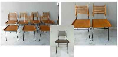 10 1950'S PAUL MCCOBB WINCHENDON SHOVEL HEAD CHAIRS IN MUSEUM OF MODERN ART NYC