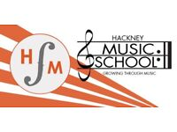 Hackney Music School - Singing, Piano, Violin, Guitar, Drums & Sax lessons in Hackney