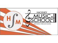 Hackney Music School - Learn Piano, Violin, Guitar, Drums, Sax in Hackney's leading school