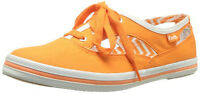 Orange cut away keds - SIZE 5