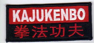"KAJUKENBO 3.5""W KARATE MARTIAL ARTS PATCH - NEW"