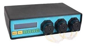 USED Marine Color Dosing Pump MCD-3-M Manage up to 6 Channel of Expansion for Aquarium Lab Reef