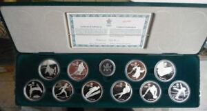 1988 Canadian Olympic Coin Set