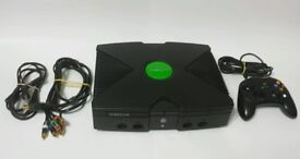 Original xbox and controller all wires