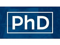 PhD Admission in Various UK university