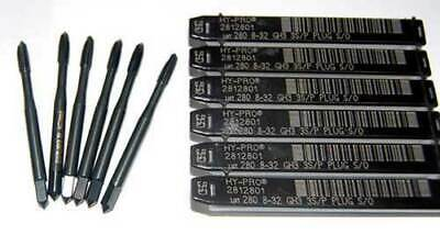 6 Pcs. Osg 8-32 Hy-pro Spiral Point Plug Cnc So Taps-hardened Steelstainless