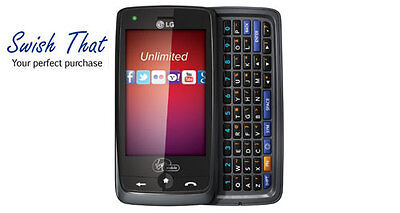 New Lg Rumor Touch Prepaid Phone With Full Qwerty Keyboard  Virgin Mobile