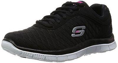 63cfce88aacf Skechers Women S Flex Appeal Eye Catcher Training Shoe Womens And Fashion  Size 6